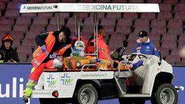 Оспина был выписан из больницы – голкипер Наполи потерял сознание во время матча против Удинезе