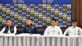 Игроки молодежной сборной Украины поделились ожиданиями от отборочной группы к Евро-2021