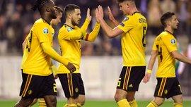Евро-2020: сборная Бельгии обыграла Россию дома