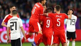 Германия – Сербия – 1:1 – видео голов и обзор матча