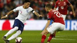 Англия – Чехия – 5:0 – видео голов и обзор матча