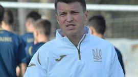 Ротань провів перше тренування на чолі молодіжної збірної України