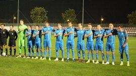 Украина U-18 крупно уступила Болгарии U-18 в товарищеском матче