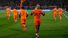Нидерланды – Беларусь – 4:0 – видео голов и обзор матча
