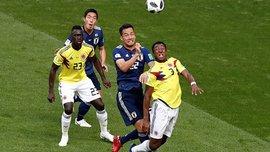 Колумбия минимально обыграла Японию в товарищеском матче
