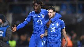 Мойзе Кин может получить место в стартовом составе сборной Италии