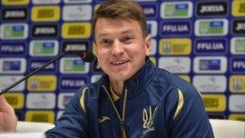 Ротань прокомментировал первую победу во главе молодежной сборной Украины
