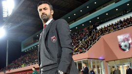Пануччі звільнили з посади головного тренера збірної Албанії