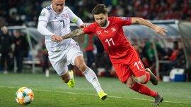 Грузия – Швейцария – 0:2 – видео голов и обзор матча