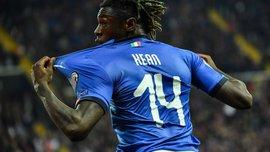 Кін став наймолодшим автором гола у збірній Італії за більш ніж 60 років