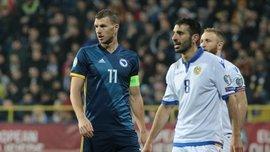 Боснія та Герцеговина – Вірменія – 2:1 – відео голів та огляд матчу