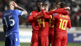 Кіпр – Бельгія – 0:2 – відео голів та огляд матчу