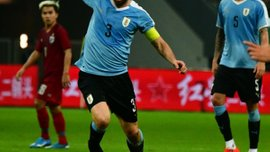 Годін встановив рекорд збірної Уругваю за кількістю матчів