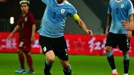 Годин установил рекорд сборной Уругвая по количеству матчей