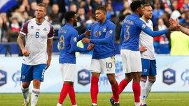 Франция – Исландия – 4:0 – видео голов и обзор матча