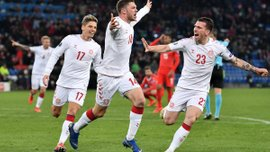 Євро-2020: Данія на виїзді врятувала нічию проти Швейцарії – скандинави оформили фантастичний камбек
