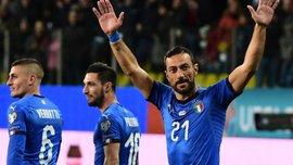 Евро-2020: Квальярелла дублем помог Италии уничтожить Лихтенштейн в матче отбора, Грузия уступила Ирландии
