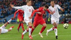 Швейцарія – Данія – 3:3 – відео голів та огляд матчу