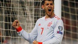 Мальта – Іспанія – 0:2 – відео голів та огляд матчу