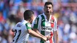 Леганес Лунина и Кравца прервал 7-матчевую беспроигрышную серию Хетафе – видео голов и обзор матча