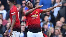 4 игрока Манчестер Юнайтед забили 10 и больше голов за сезон АПЛ впервые за 23 года