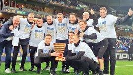 Страсбур выиграл Кубок французской лиги, прервав 5-летнюю гегемонию ПСЖ