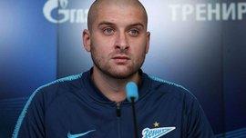 Ракицький у своєму фірмовому стилі забив перший гол за Зеніт