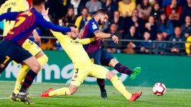 Барселона вырвала ничью с Вильярреалом: урок от аутсайдера, топ-класс от форвардов и Касорлы, Месси – король штрафных