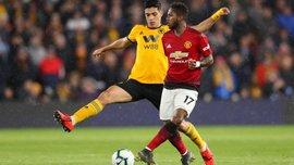Результативна помилка Фреда та автогол Смоллінга у відеоогляді матчу Вулверхемптон – Манчестер Юнайтед