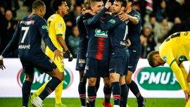 ПСЖ в большинстве разгромил Нант и стал вторым финалистом Кубка Франции