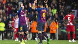 Барселона победила Атлетико: брань Диего Косты сломала план Симеоне, перфоманс Облака, очередные рекорды Месси и Суареса