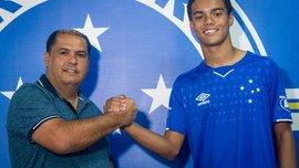 Крузейро подписал контракт с сыном Роналдинью