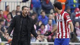 Сімеоне про Косту: Гравці Барселони роблять те ж саме, але їх не вилучають