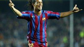 Роналдиньо признался, благодаря кому оказался в Барселоне