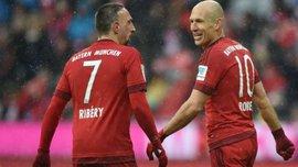 Баварія проведе Рібері та Роббену прощальний матч
