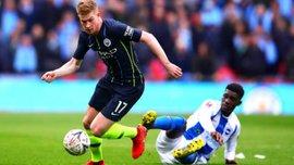 Де Брюйне оценил возможность выиграть квадрупл с Манчестер Сити