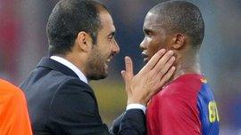 """""""Це я приносив перемоги Барселоні, а не Мессі"""", – Ето'О розповів, що сказав Гвардіолі"""