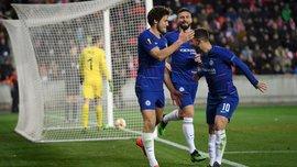Славия – Челси – 0:1 – видео гола и обзор матча