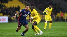 Лига 1: Лион сенсационно уступил Нанту, Дижон и Амьен разошлись миром