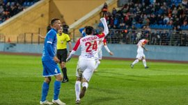 Мемешев відзначився дебютним голом за Славію-Мозир та приніс перемогу своїй команді