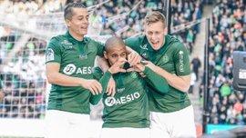 Лига 1: Сент-Этьен разгромил Бордо, Монпелье переиграл Тулузу, Ренн и Ницца разделили очки