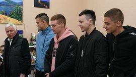 Гравці Динамо відвідали поранених у військовому шпиталі