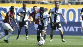 Парма – Милан – 1:1 – видео голов и обзор матча
