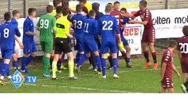 Динамо U-17 – Торино U-17: во время матча вспыхнула массовая драка