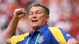 Блохін: Шовковський – один з найкращих футболістів, який грав під моїм керівництвом