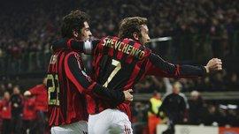 Шевченко поздравил Кака с Днем рождения и вспомнил феноменальное взаимодействие в Милане