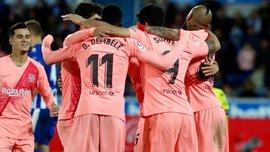 Алавес – Барселона – 0:2 – відео голів та огляд матчу