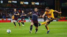 Вулверхэмптон – Арсенал – 3:1 – видео голов и обзор матча