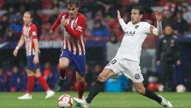 Голевая перестрелка Атлетико и Валенсии – видеообзор матча