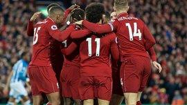 Відеоогляд матчу, у якому Ліверпуль знищив Хаддерсфілд – 5:0